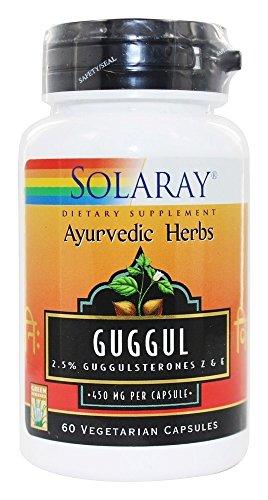 Solaray - Ayurvedic Herbs Guggul 450 mg. - 60 Capsules