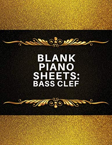 - Blank Piano Sheets: Bass Clef: Music Composition Practice Journal Notebook Notepad, Blank Staff Manuscript Paper Template, Song Writing Journals, ... 8.5