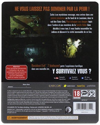 Resident Evil 7 : Biohazard - édition Steelbook [Importación francesa]
