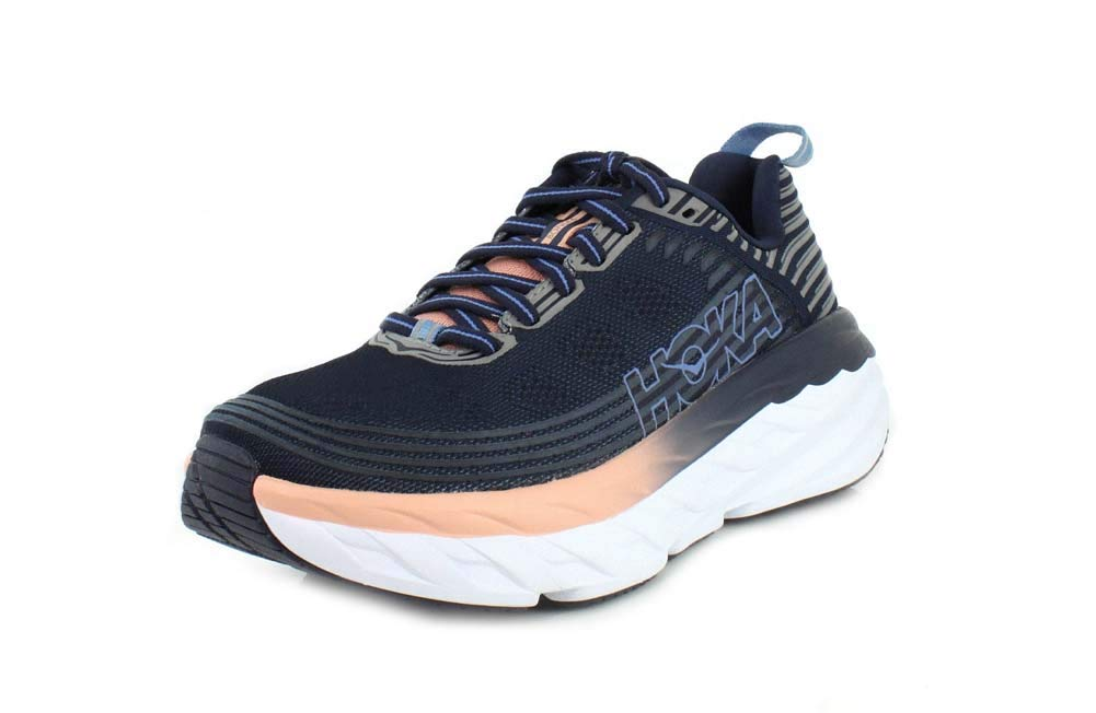 HOKA ONE ONE womens 1019270 Bondi 6 Blue Size: 6: Amazon.com.au: Fashion