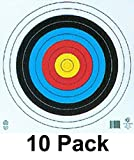 80 cm paper target - EBBQ Maple Leaf FITA 10-Ring Four Color Face Paper Target, 24-Inch