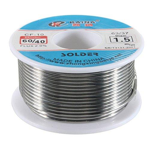 Doradus 1.5mm Tin lead Solder Wire Rosin Core Soldering 2% Flux Reel Tube 60/40