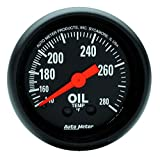 Auto Meter 2609 Z-Series Mechanical Oil Temperature Gauge