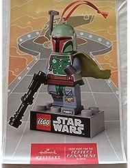Star Wars Lego Hallmark Boba Fett - D/S 11.5X18 Original Promo Poster Sdcc 2014 Rolled
