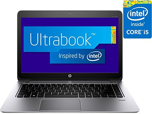 (HP EliteBook Folio 1040 G2 (L8E66UT#35;ABA) Laptop - Intel Core i5 5200U (2.20 GHz) 4 GB DDR3L 128 GB SSD Intel HD Graphics 5500 14'' FHD 1920 x 1080 Touchscreen 720p HD webcam Windows 8.1 Pro 64-Bit)