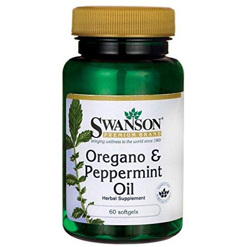 Swanson Oregano & Peppermint Oil 60 (Peppermint Oregano Oil)