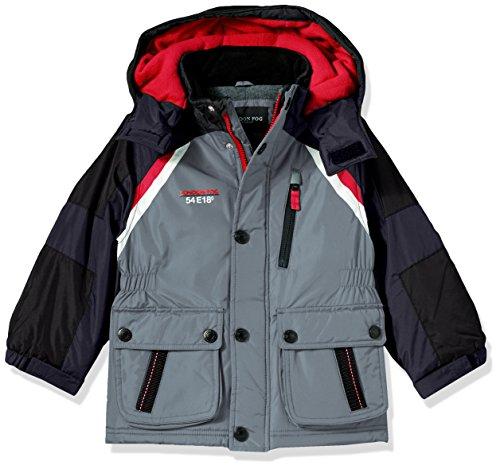 7c0d6ef27 London Fog Boys  Midweight Parka Coat with Polar Fleece Lining ...