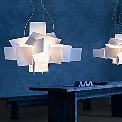 White Big Bang Chandelier Lamp Lighting Pendant Dia 35.4'' Large Size