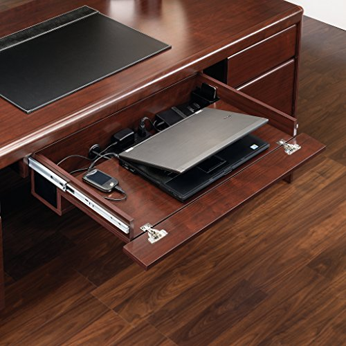 Sauder 404943 Cornerstone Laptop Drawer, Classic Cherry (Cornerstone Cherry)