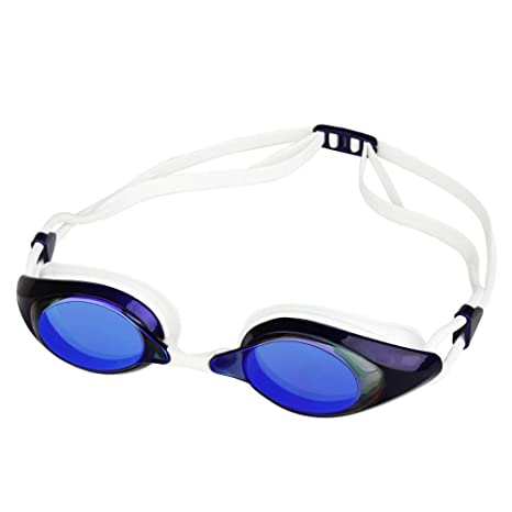 23ceeee3e8ee Amazon.com   Kaxima Swimming Goggles HD Waterproof and fog-proof small frame  swimming glasses electroplating flat swimming equipment-men and women  general ...