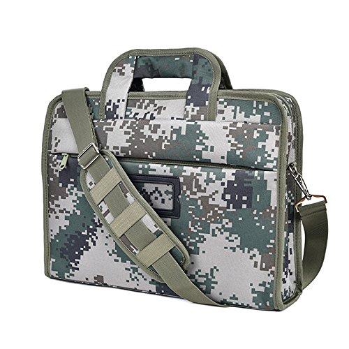 SHULING Outdoor Rucksack Klassische Mode Outdoor Laptop Tasche Schulter Messenger Bag Gebaut Schwamm Mezzanine