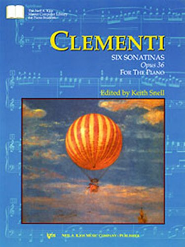 GP379 - Clementi - Six Sonatinas Opus 36 for the Piano