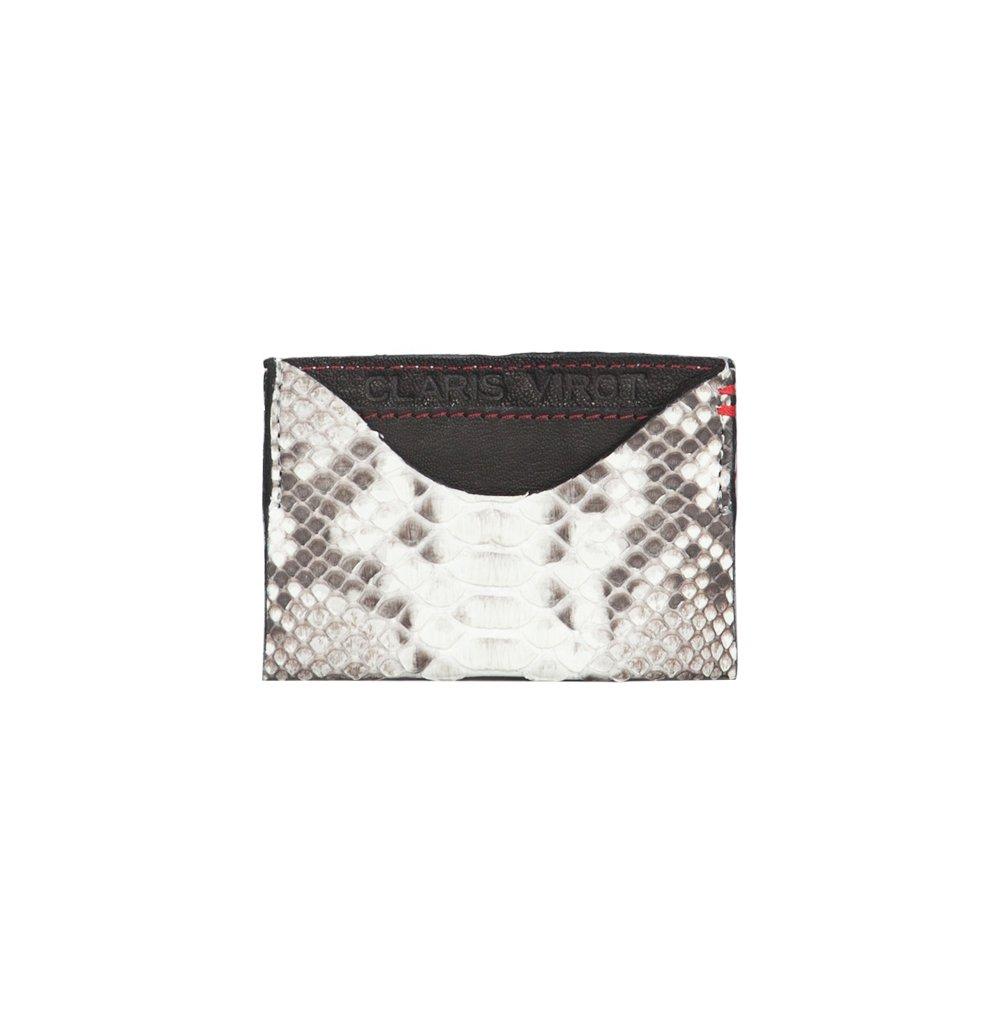 Claris Virot Manu Card Wallet 27876 White Women Spring/Summer Collection