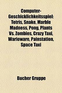 Computer-Geschicklichkeitsspiel: Tetris, Snake, Marble Madness, Pong, Pflanzen Gegen Zombies, Crazy Taxi, Warioware, Painstation, Bomberman (1158794231) | Amazon Products