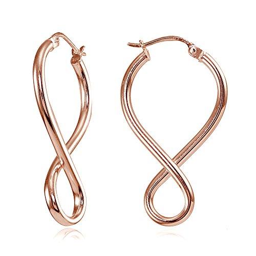 9k Rose Earrings - 2