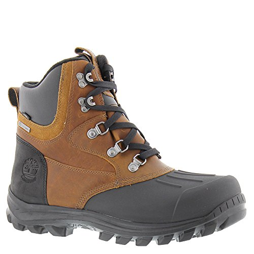 Timberland Men's Chillberg Mid Shell Toe Wp Ins Snow Boot, Wheat Tbl Forty Full Grain (11) (Waterproof Boots Snow Timberland)