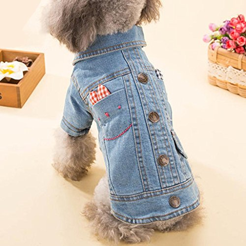 [Q@QQ Dog dog cowboy two feet clothes pet autumn and winter doggy casual clothes , 18#] (Target Cowboy Dog Costume)