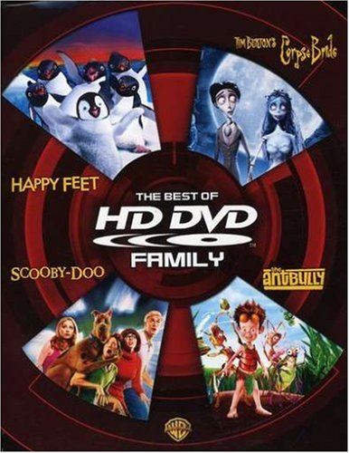 The Best of HD DVD - Family (Happy Feet / Tim Burton's Corpse Bride / Scooby-Doo / The Ant Bully)