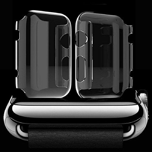 Apple Watch Case,Sunfei Ultra-Slim Cystal Clear PC Hard Protective Case Cover for Apple Watch (42mm) by Sunfei (Image #3)