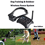 Dog Fence System,2in1 Wireless Electric Dog
