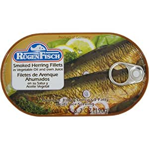 Smoked herring fillets rugenfisch filets de hareng fumes 6 for Smoked herring fish