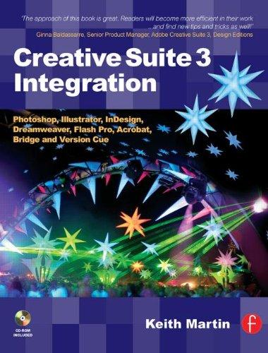 Creative Suite 3 Integration: Photoshop, Illustrator, InDesign, Dreamweaver, Flash Pro, Acrobat, Bridge and Version Cue