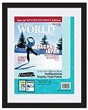 magazine article frame - MCS 11x14 Inch Magazine Display Float Frame, Black (40946)