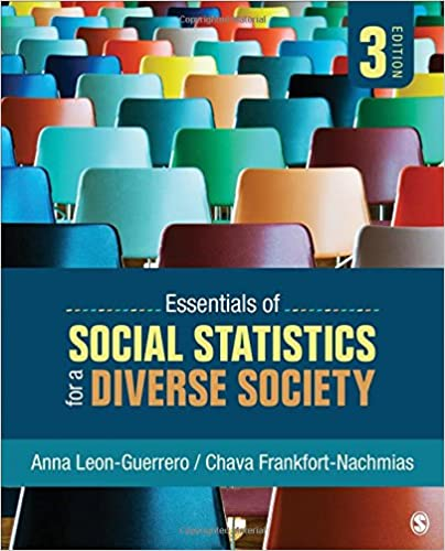 Essentials Of Social Statistics For A Diverse Society by Amazon
