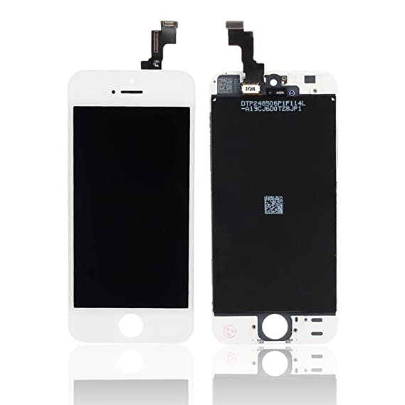 super popular 16212 e0acc for iPhone 5S Full Set LCD Screen Replacement Digitizer Assembly Display  Touch Panel White