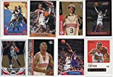 Allen Iverson Collectors Basketball Card Lot w/ Collectors Choice Rookie Card Philadelphia 76ers--Sixers