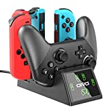 Switch Controller Charger Dock Station for Nintendo