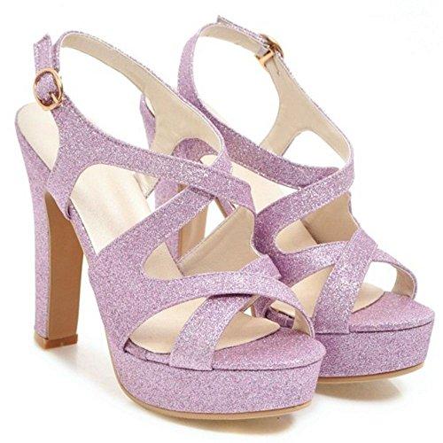 Purple Femmes Plateforme Sandales Mode Melady aUqCRwHCx