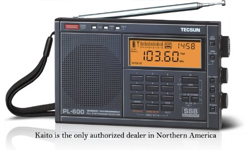 Tecsun PL-600 AM/FM/LW SSB Shortwave Radio, Black ()