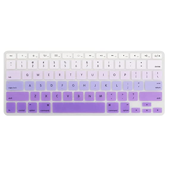 sale retailer 99f42 161ff YMIX Silicone Dust-Proof Keyboard Cover Washable Protective Skin for Old  MacBook Pro 13