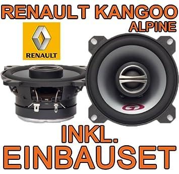 Renault Kangoo 1 – Sistema de altavoces – Alpine SPG 10 C2 – 10 cm de