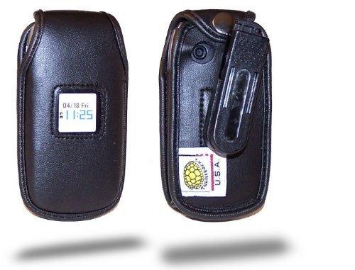 Turtleback Heavy Duty Black Leather Case for Pantech Bree...