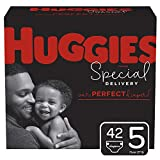 Huggies Special Delivery Hypoallergenic Baby Diapers, Size 5 (27+ lbs.), 42 Count, Giga Jr. Pack