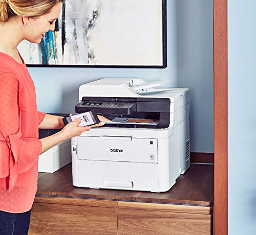 Brother MFC-L3750CDW Digital Color All-in-One Printer, Laser Printer Quality, Wireless Printing, Duplex Printing, Amazon Dash Replenishment Enabled by Brother (Image #5)