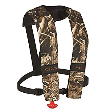 Onyx M-24 Manual Inflatable Vest, Realtree Max-5