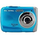 BELL+HOWELL WP7-BL 12.0 Megapixel WP7 Splash Waterproof Digital Camera (Blue) consumer electronics
