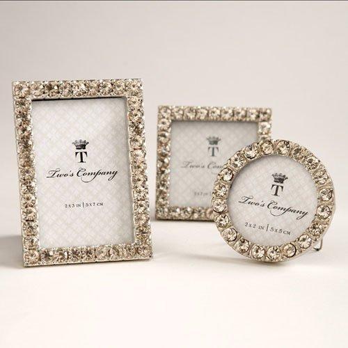 iamonds Set of 3 Jeweled Mini Frames Assorted ()