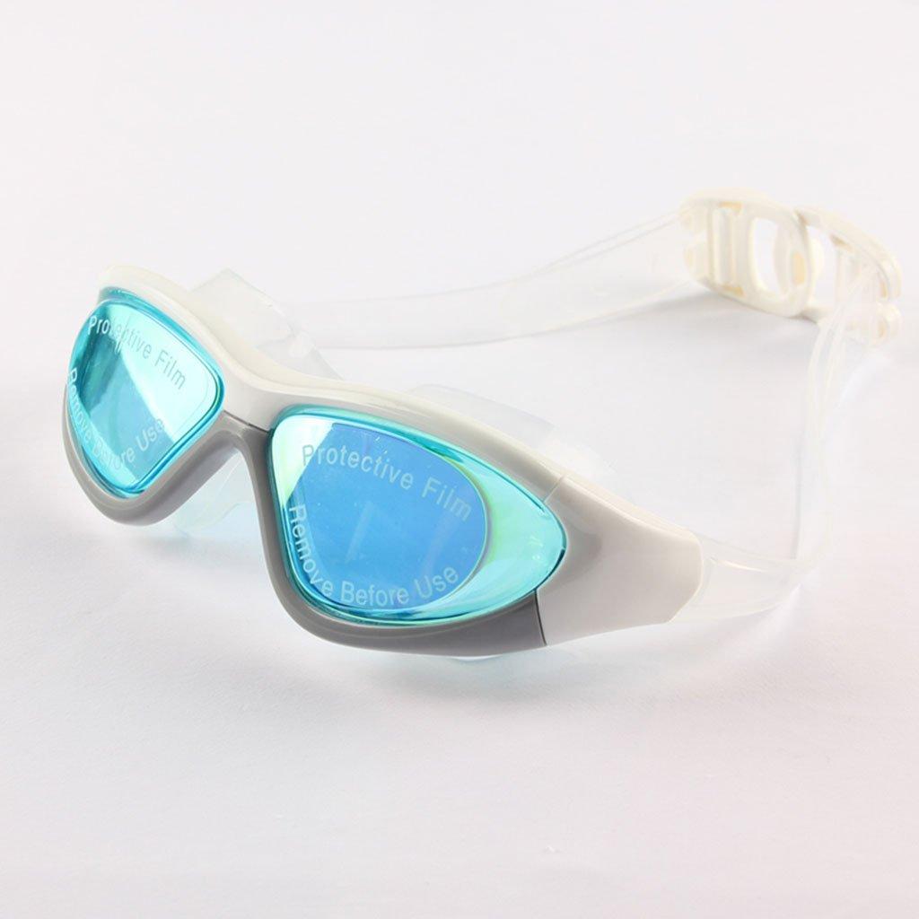 William 337 Big Big Big Frame Anti-Fog UV-Schutz Schwimmbrille Professionelle Wasserdichte Schwimmen Brillen (Farbe   C) B07FFR1315 Schwimmbrillen Elegant und feierlich 611d39