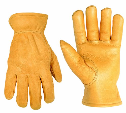 (CLC Custom Leathercraft 2063XL Top Grain Deerskin Drivers Gloves, XL)