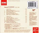 Barber: Adagio for Strings / Violin Concerto