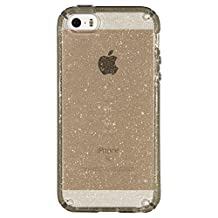 Speck Products CandyShell Case for iPhone SE/5S/5, Retail Packaging, Gold Glitter/Clear