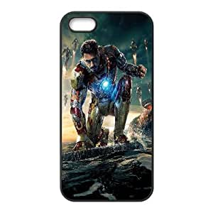 iphone5 5s Case (TPU), iron man Cell phone case Black for iphone5 5s - YYTT7890129