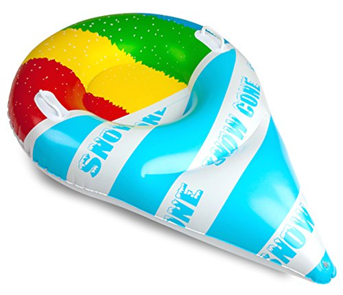 Big Mouth BigMouth Giant Snow Cone Snow Tube Ride (Blast Snow Cone)