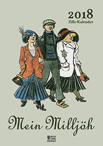 Mein Milljöh 2018: Zille-Kalender