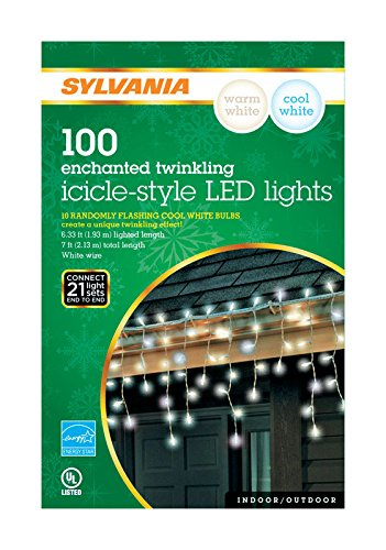 Sylvania Led Icicle Christmas Lights