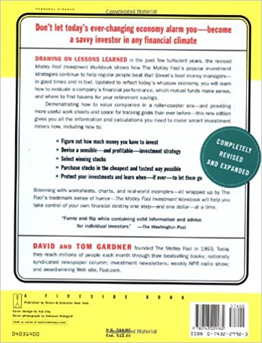 The Motley Fool Investment Workbook (Motley Fool Books): David ...